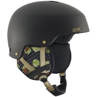 Шлем м г/л ANON STRIKER CIRCLE CAMO BLACK EU