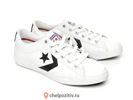 Кеды CONVERSE STAR PLAYER LP LEATHER OX