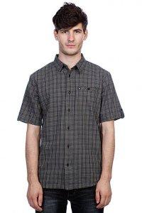 Рубашка DC SHOES SAINT ANDREW SS DLACK PLAID