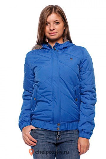 Куртка DC SHOES GOLDBERG PUFFER JACKET NAUT BLU