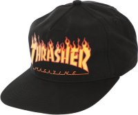 Кепка THRASHER FLAME SNAPBACK BLACK