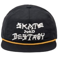 Кепка THRASHER SNAPBACK - S&D PUFF INK Black