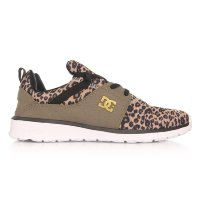 Кроссовки DC SHOES HEATHROW SE J SHOE LEOPARD PRINT