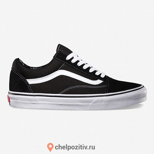 Кеды VANS OLD SKOOL Black/White купить