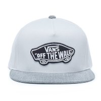 Кепка VANS MN CLASSIC PATCH SNA White/Hea