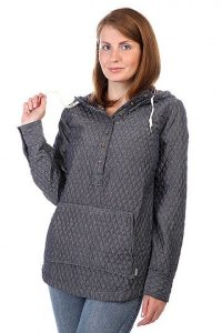 Рубашка женская BURTON WB CABO PULLOVER MONUMENT HEATHER