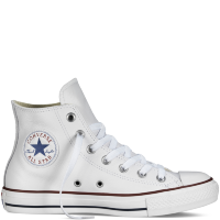 Кеды CONVERSE Chuck Taylor All Star LEATHER Hi WHITE
