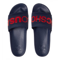 ШЛЕПАНЦЫ DC SHOES DC SLIDE M SNDL NAVY/RED