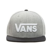 Кепка VANS MN DROP V II SNAPBAC Heather G