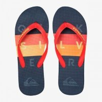 ШЛЕПАНЦЫ QUIKSILVER MOLO WORD BLOCK M SNDL BLACK/RED