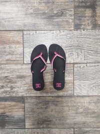Шлепки DC SHOES TWISTER WOMAN'S BLACK/CRAZY PINK