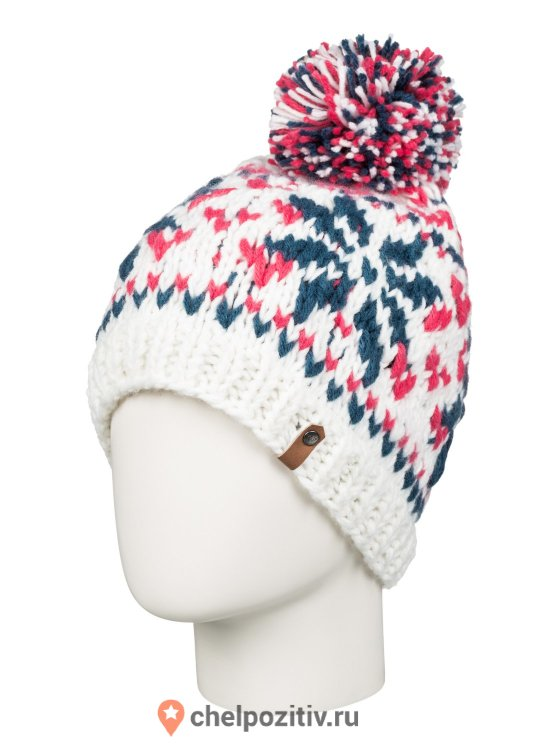 Шапка ROXY DJUNI BEANIE J HATS BRIGHT WHITE