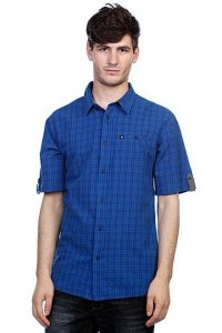 Рубашка DC SHOES SAINT ANDREW SS BLUE PLAID